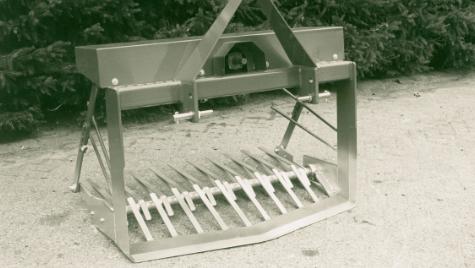Eerste Peecon landbouwmachine